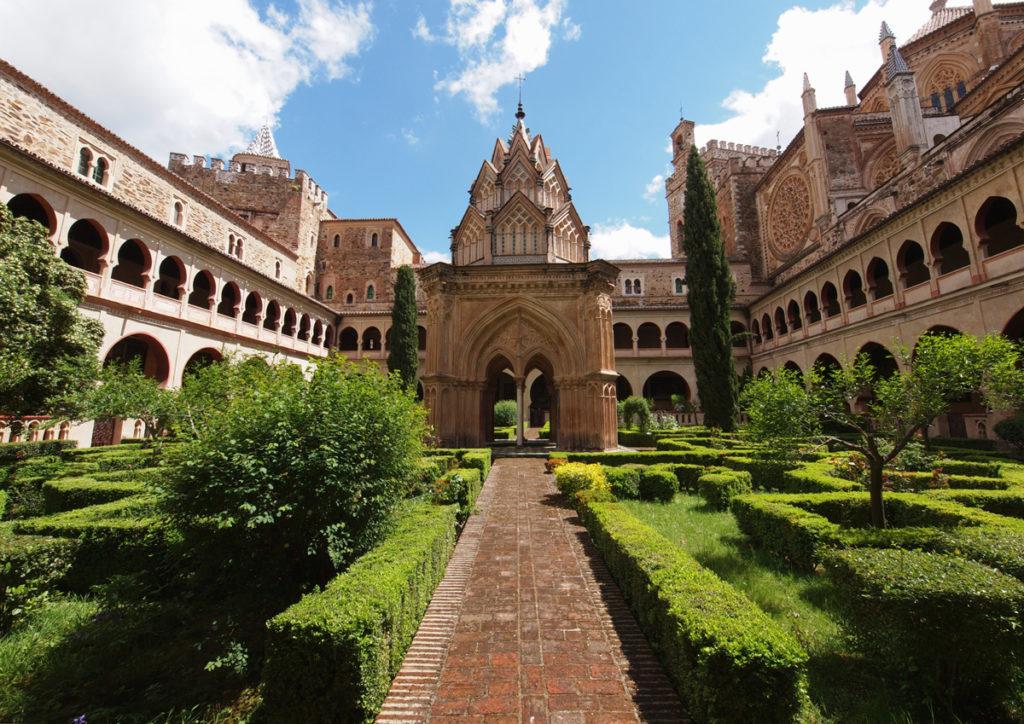 vino españa monasterios