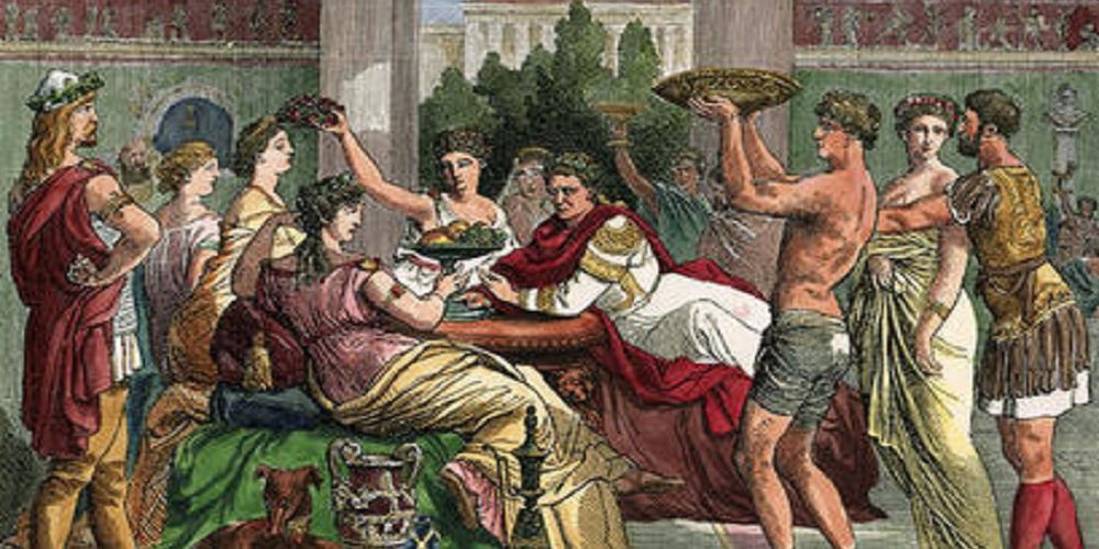 vino imperio romano